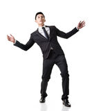 Asian business surprised stock photo