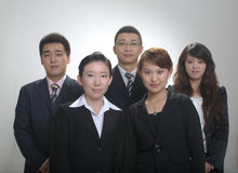 Asian business team Stock Photography