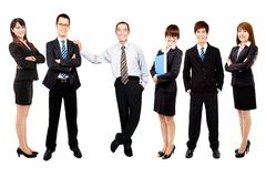 Asian business team Royalty Free Stock Photos