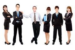 asian business team royalty free stock photos