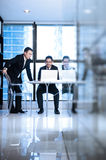 Asian Business Team Stock Image