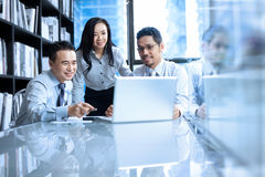 Asian Business Team Royalty Free Stock Photo
