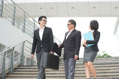 Asian business team meeting Royalty Free Stock Photo