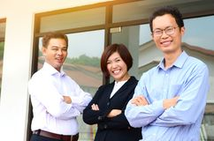 Asian business team Stock Images