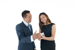Asian Business Team Royalty Free Stock Images