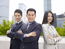 Asian business team Stock Photo