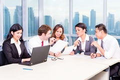 Asian Business Team in Strategy meeting Stock Photography