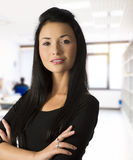 The asian business woman Royalty Free Stock Photo