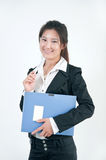 Asian business woman Royalty Free Stock Image