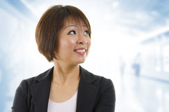 Asian business woman Stock Photography