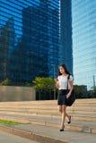 Asian business woman cellphone Stock Photos