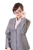 Asian business woman Stock Image
