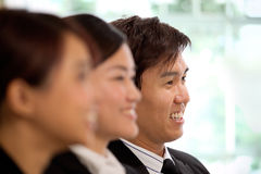 Asian Business woman  in a meeting Royalty Free Stock Photos