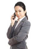 Asian business woman mobile Stock Photos