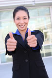 Asian Business Woman at Office Stock Image