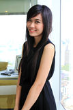 Asian business woman in the office Royalty Free Stock Photos
