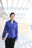 Asian Business Woman at Office Royalty Free Stock Image