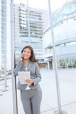 Asian Business Woman on Phone Stock Photography