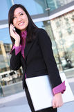 Asian Business Woman on Phone Royalty Free Stock Images