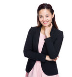 Asian business woman portrait Royalty Free Stock Photo