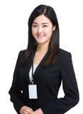 Asian business woman portrait Stock Images