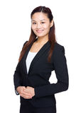 Asian business woman portrait Royalty Free Stock Photos