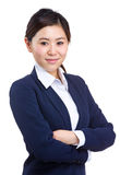 Asian business woman portrait Stock Image