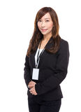 Asian business woman portrait Stock Photography