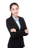 Asian Business woman portrait Royalty Free Stock Photography