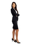 Asian Business Woman in suit Stock Images