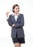 asian business woman wear glasses Royalty Free Stock Photo