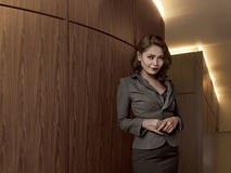 Asian business woman wearing suit Stock Photos