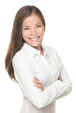 Asian business woman on white background Stock Image