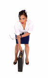 Asian business woman. Royalty Free Stock Photography