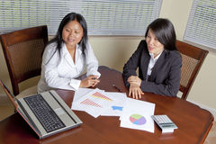 Asian Business women Royalty Free Stock Photography