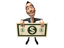 Asian businessman. 3d generated picture Stock Image