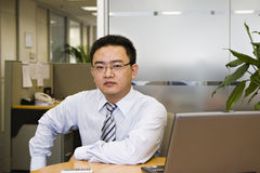 Asian businessman Stock Photos