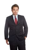 Asian businessman in full suit Stock Photography