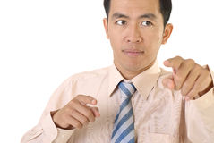 Asian businessman portrait Stock Photography