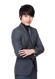 Asian businessman portrait stock image