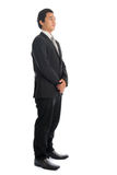 Asian businessman side view Stock Photo