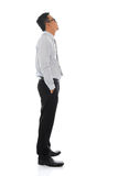 Asian businessman side view Stock Photos