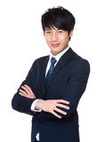 Asian businessman smile Royalty Free Stock Photography