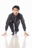 Asian businessman start to run Royalty Free Stock Photography