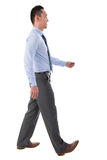 Asian businessman walking Royalty Free Stock Images