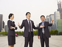 Asian businesspeople Royalty Free Stock Images