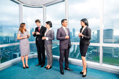 Asian Businesspeople meeting in office Royalty Free Stock Photo