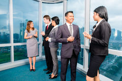 Asian Businesspeople meeting in office Royalty Free Stock Image
