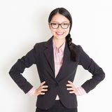 Asian businesspeople portrait Royalty Free Stock Photo