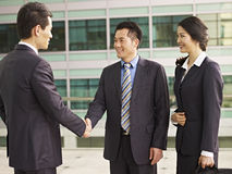 Asian businesspeople Stock Images